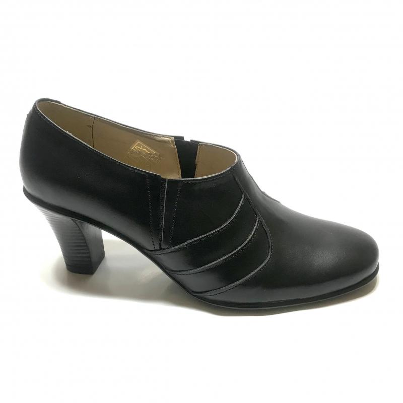 Pantofi dama nergi cu toc jos si elastic