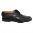 Pantofi barbati negri cu siret Politie, Piele Naturala