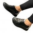 Pantofi dama sport cu model de sarpe Maia03, Piele Naturala