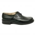 Pantofi barbati negri de iarna cu siret Politie, Piele Naturala