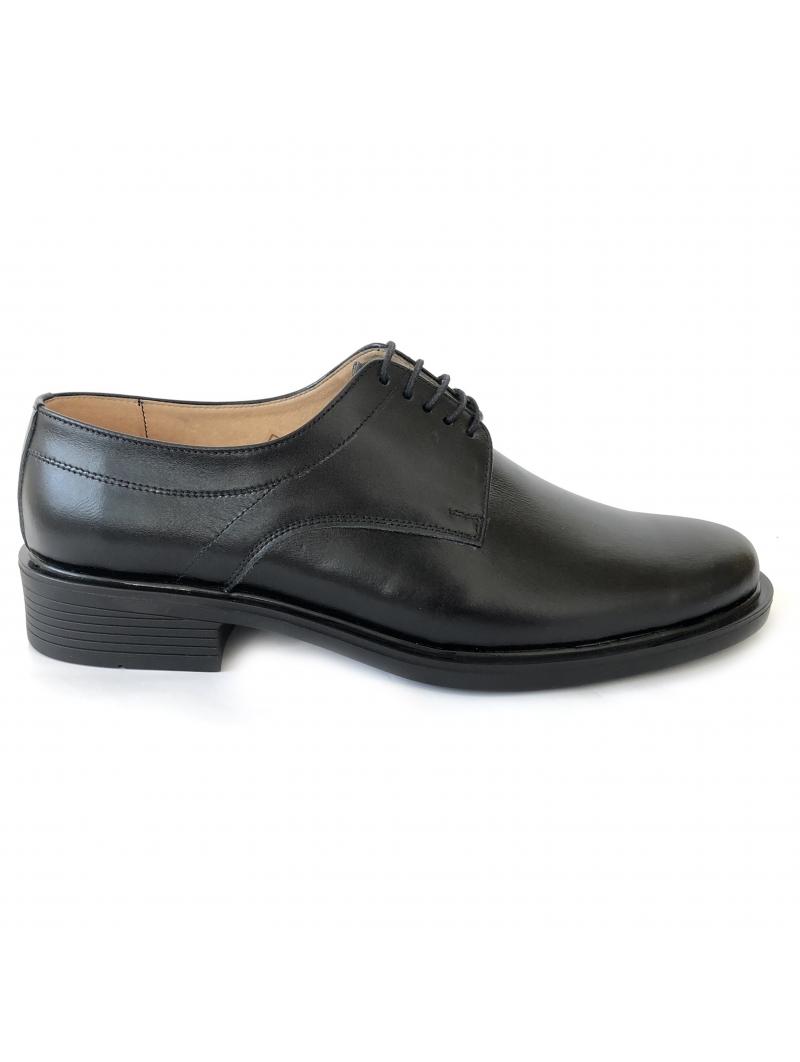Pantofi negri barbatesti cu siret. Ghete Politie, IGPR, Jandarmi, Pompieri si Cadre Militare