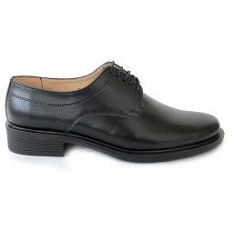 Pantofi casual 07 negri, din piele naturala