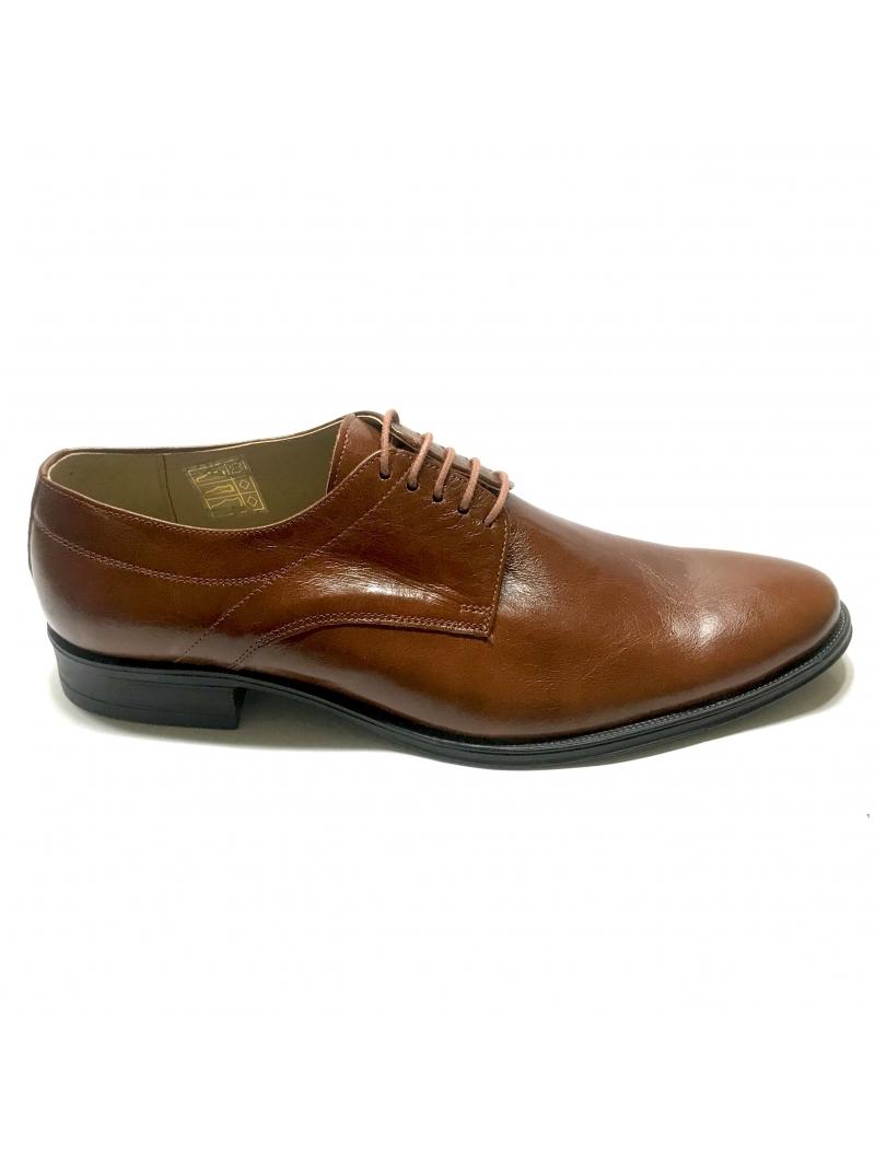 Pantofi  barbati eleganti maro piele naturala