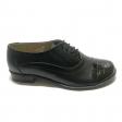 Pantofi dama lati negri cu siret si lac Enea, Piele Naturala