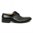 Pantofi barbati elegant negri piele naturala