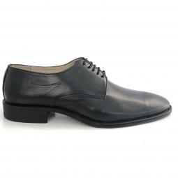 Pantofi barbati eleganti negri piele naturala