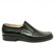 Pantofi barbati casual negri 07N, Piele Naturala