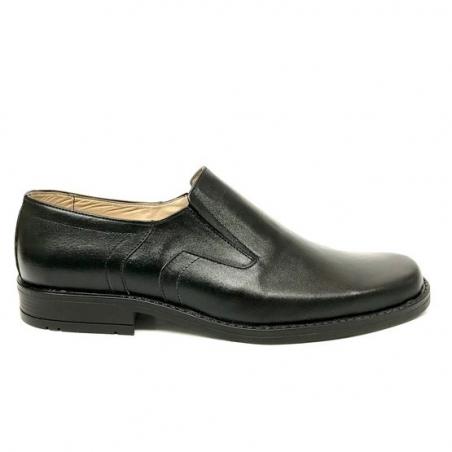 Pantofi barbati casual negri piele naturala