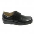 Pantofi barbati sport casual negri cu arici piele naturala