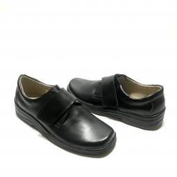 Pantofi dama comozi, 601 negri, din piele naturala