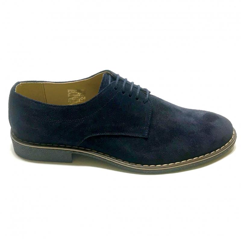 Pantofi casual barbati negri velur piele intoarsa