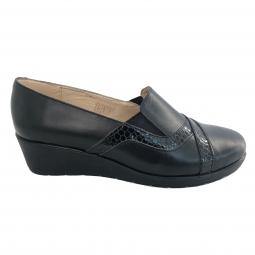Pantofi de dama 31 negri din piele naturala