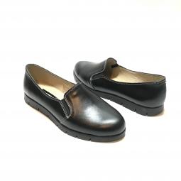 Pantofi casual barbati, 15 Maro+Albastru, din piele naturala