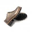 Pantofi dama maro cu siret si talpa groasa Louisa09, Piele Naturala