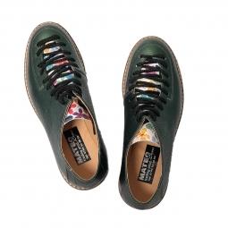 Pantofi sport 01 negri din piele naturala