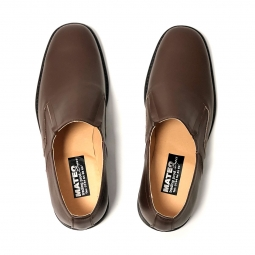 Pantofi dama ortopedici grena din piele naturala