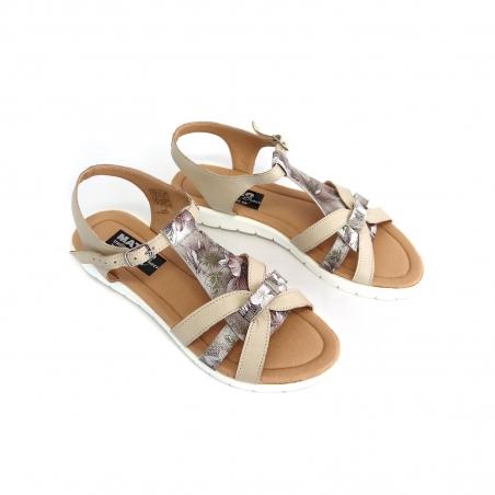 Pantofi Dama cu Talpa Groasa Mickey 09 din Piele Naturala