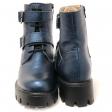 Pantofi casual negrii 317