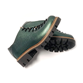 pantofi verzi dama piele naturala